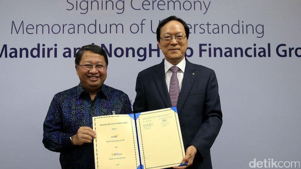 Bank Mandiri Gandeng Perusahaan Korsel Garap Kredit Pertanian