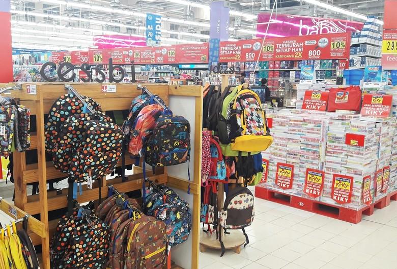Kembali ke Sekolah dengan Promo Alat Tulis di Transmart Carrefour