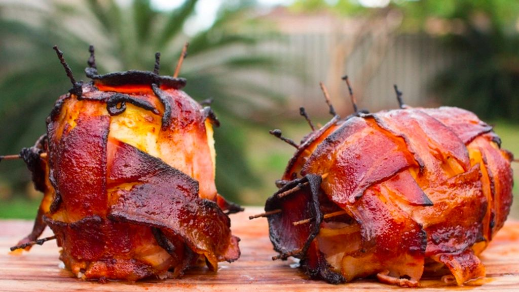 Ini Swineapple, Nanas Berbalut Daging yang Populer di Pinterest