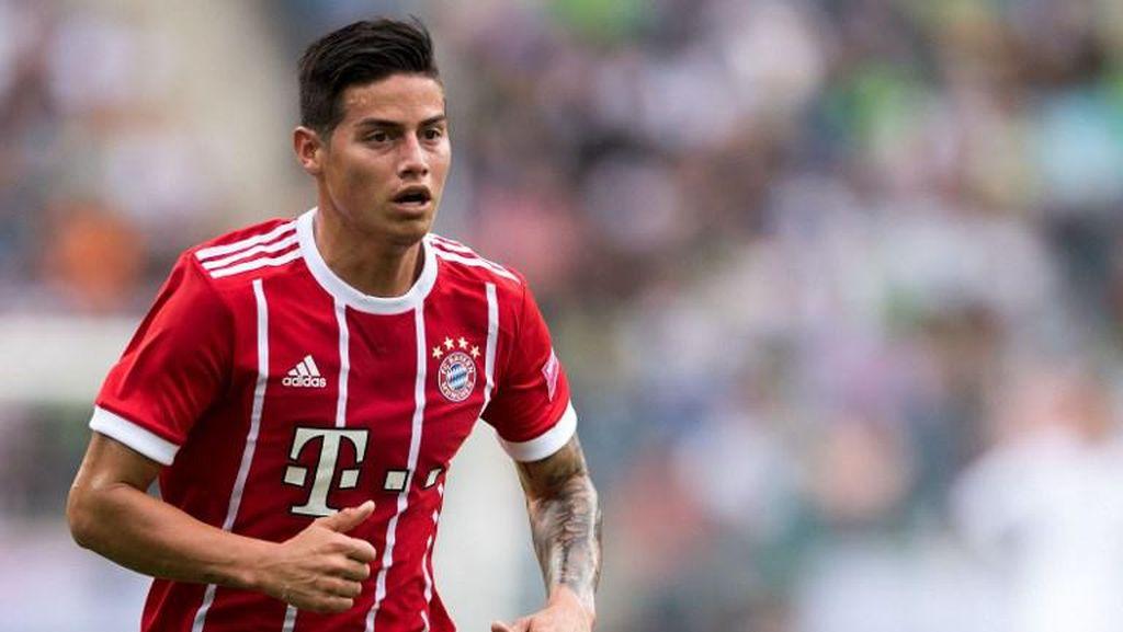 James Rodriguez Sadari Ketatnya Persaingan untuk Dapatkan Starting XI di Bayern