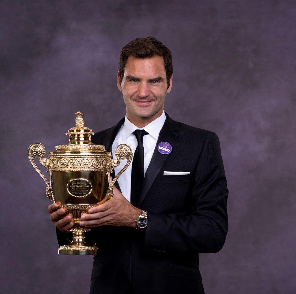 Rossi dan Schumacher Ikut Menginspirasi Federer