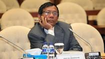 Di DPR, Mahfud MD Ditanya soal Keterlibatan Ketua KPK pada e-KTP