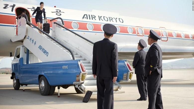 Maskapai Air Koryo, Korea Utara (Dok. CNN/Arthur Mebius)
