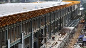 Foto Terkini Stasiun KA Bandara Sudirman Baru