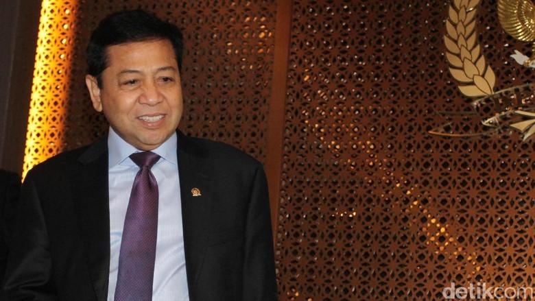 Surat DPR ke KPK soal Tunda Pemeriksaan atas Permintaan Novanto