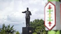 Tugu Sukarno, Tiang Pancang Pembangunan Kota Palangka Raya