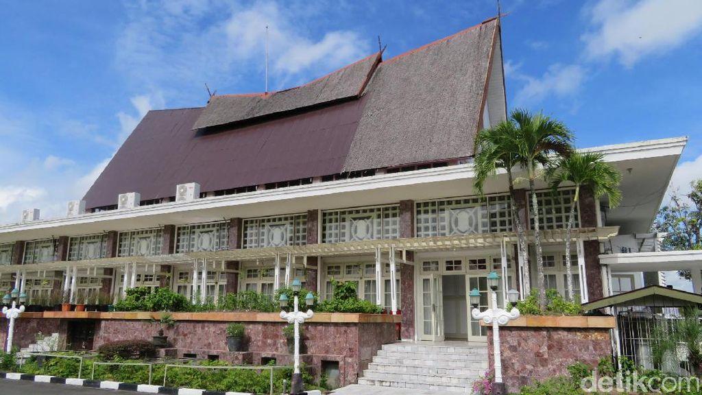 Ini Lho Istana Isen Mulang yang Dirancang Sukarno