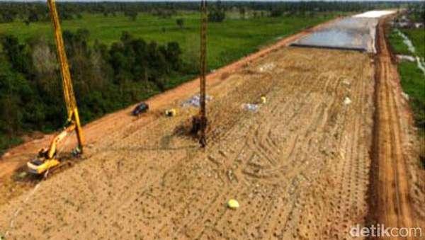 Dikebut Jokowi, Begini Progres Lahan Tol Trans Sumatera