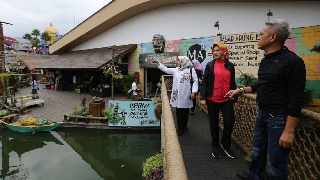 Wali Kota Airin Ingin Pasar Apung Malang Diadaptasi di Tangsel