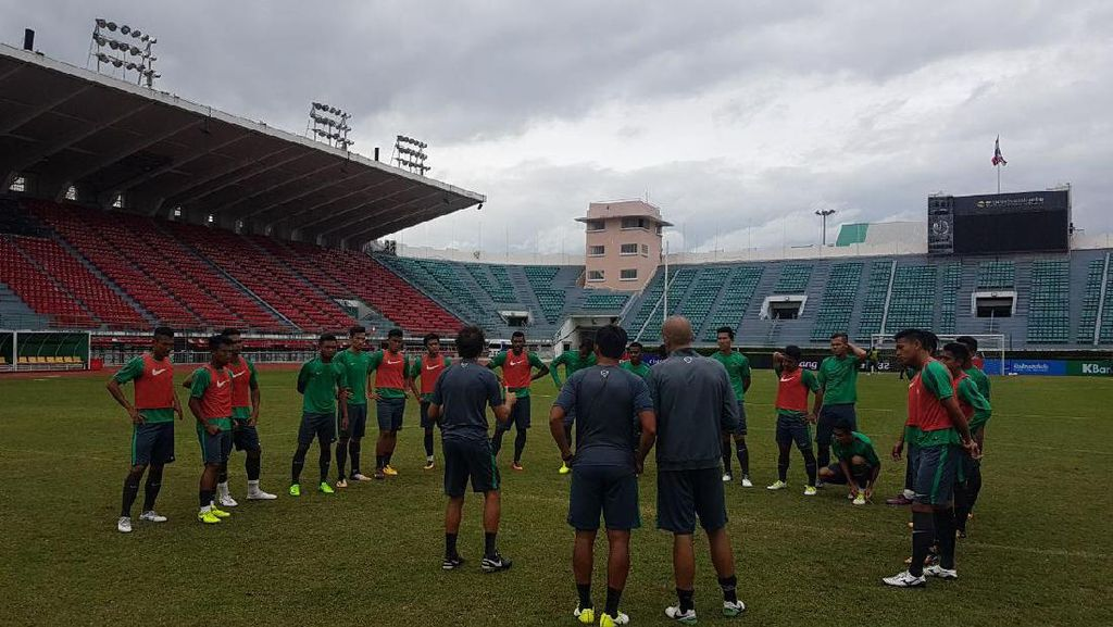 Timnas U-22 Siap Habis-Habisan Lawan Thailand