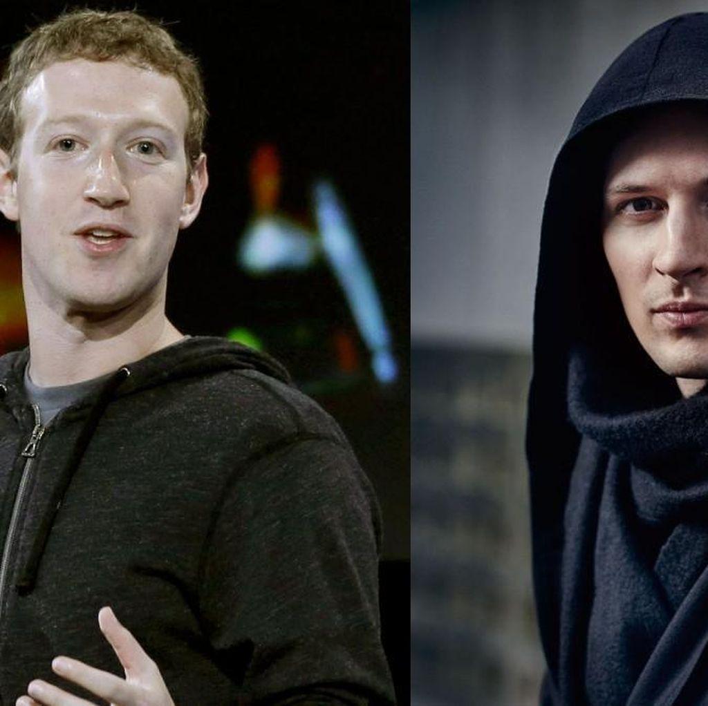 Pavel Durov vs Mark Zuckerberg, Menang Siapa?