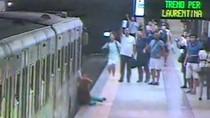 Ini Video Wanita Terseret Kereta di Sepanjang Peron Italia