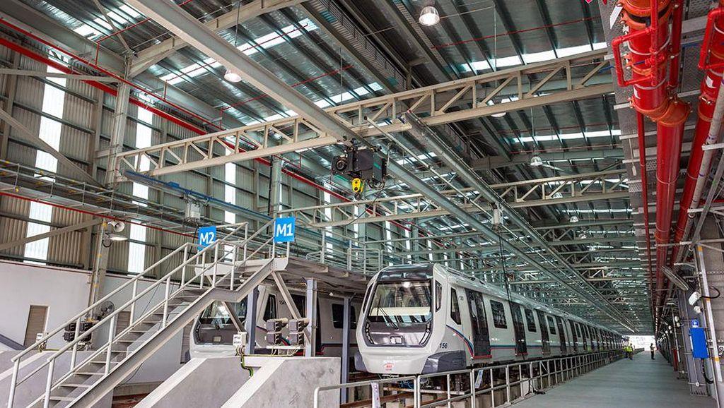 Malaysia Operasikan MRT Pertama