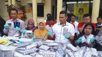 Pengiriman 404.800 Butir Pil Carnophen ke Kalimantan Digagalkan