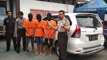 Komplotan Penggelapan Mobil Rental di Trenggalek Dibekuk