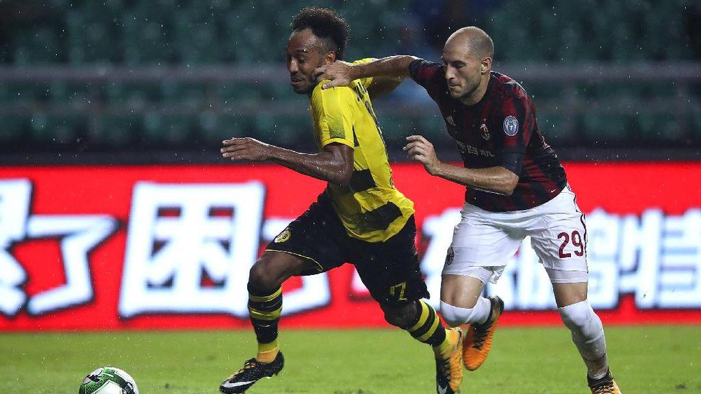 Aubameyang: Kalau Milan Pasif, Aku Bisa Apa?