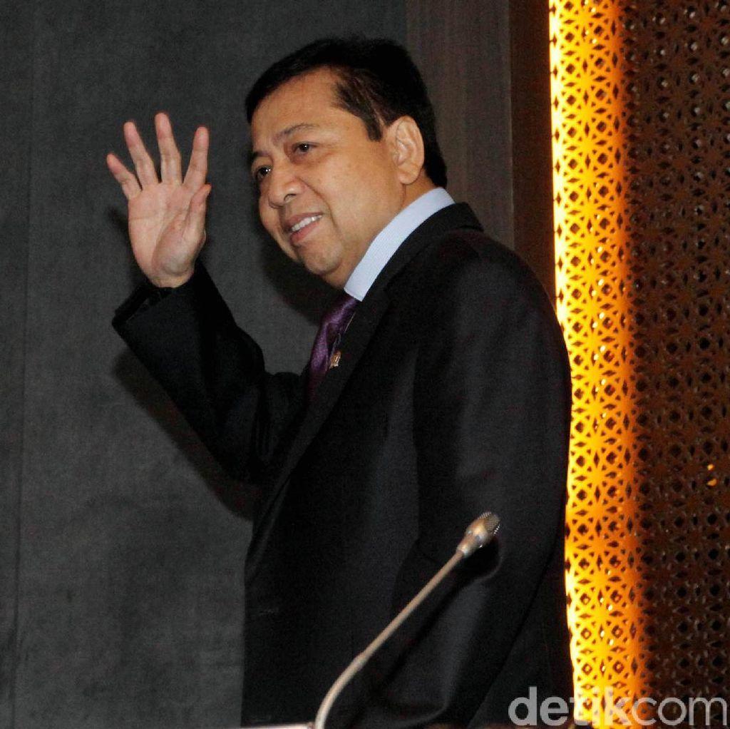 Jadi Tersangka e-KTP, Novanto: Saya Belum Pikirkan Praperadilan