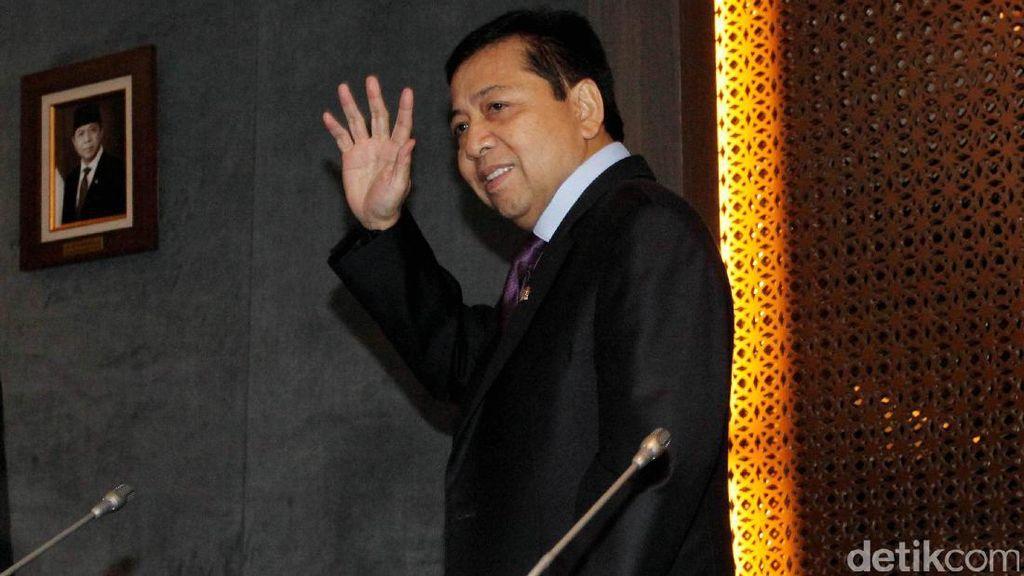 Korupsi dan Karier Politik Setya Novanto