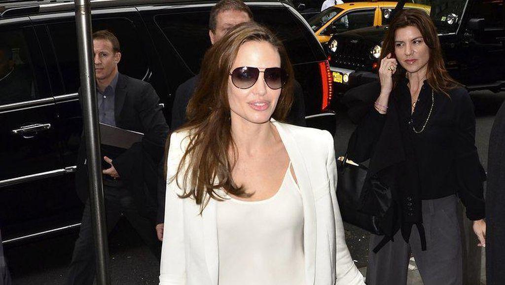 Foto: Gaya Angelina Jolie dengan 9 Brand Fashion Mewah Favoritnya
