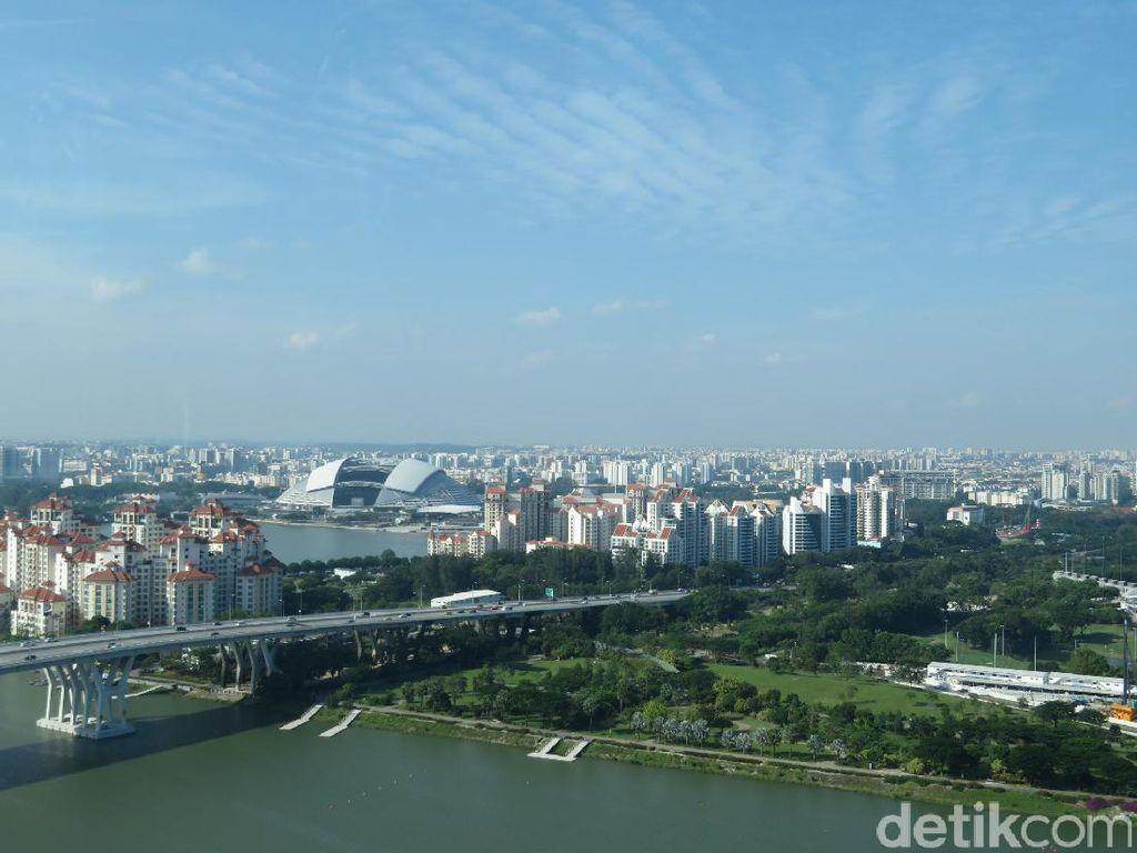 Cantiknya Wajah Singapura dari Ketinggian