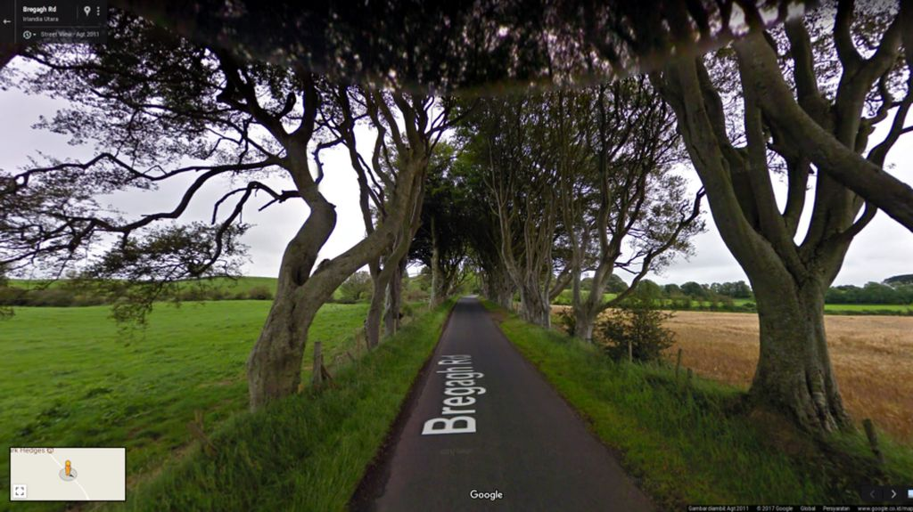 Menjelajahi Tempat-tempat Game of Thrones via Google Street View