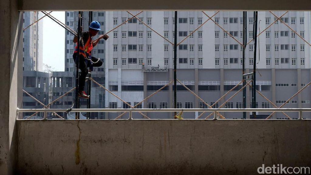 Foto: Pembangunan Wisma Atlet Kemayoran Dikebut
