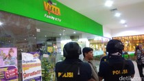 Polisi Olah TKP Inul Vizta Kediri Cari Tambahan Barang Bukti