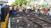Empat Perlintasan Kereta Api di Ahmad Yani Ditutup, Ini Alasannya