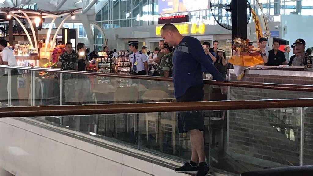 WN Australia yang Ngamuk di Bandara Bali Berencana Bunuh Diri