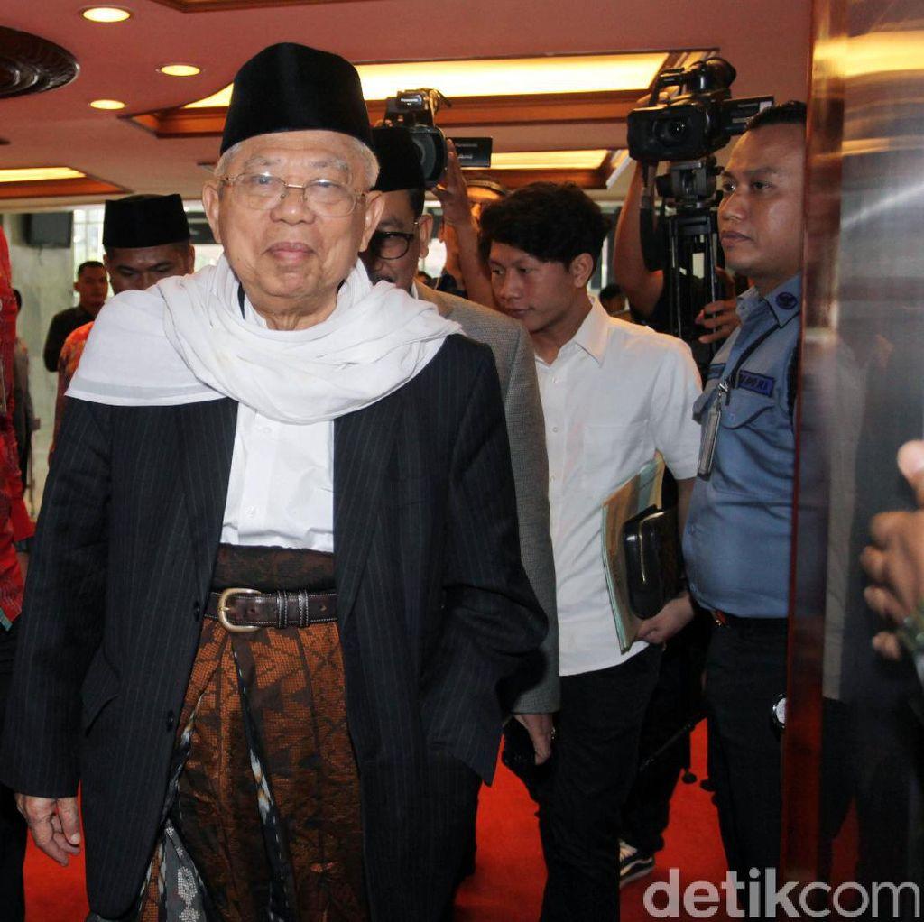 KH Maruf Amin: Tak Perlu dan Tak Usah Mendemo Perppu Ormas