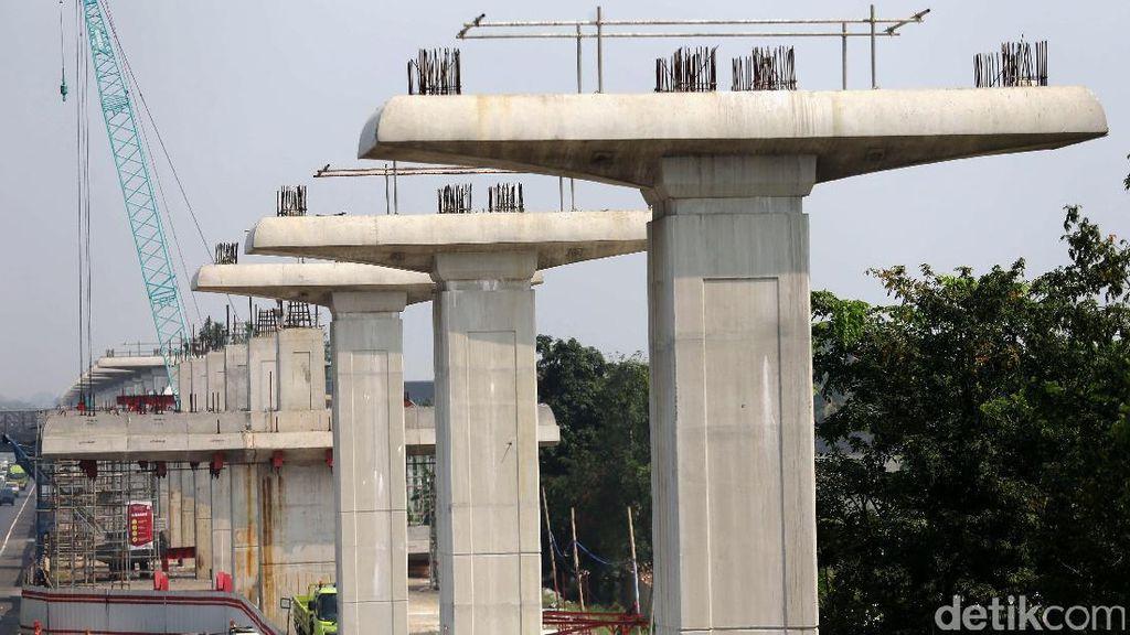 Kondisi Terkini Proyek LRT Bekasi-Cawang