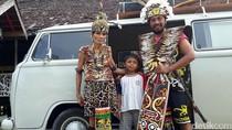 Wayan Ajak Anak-Istri Keliling Indonesia Pakai VW Kombi