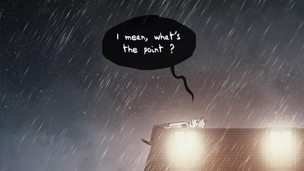 Komik Ini Gambarkan Bagaimana Rasanya Hidup dengan Gangguan Kejiwaan