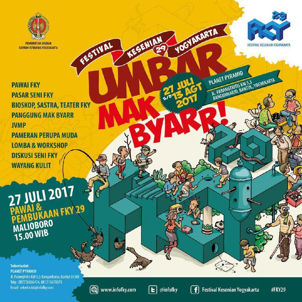 Festival Kesenian Yogyakarta ke-29 Kembali Hadir!