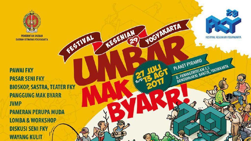 Festival Kesenian Yogyakarta ke-29 Hadirkan Kreativitas Baru