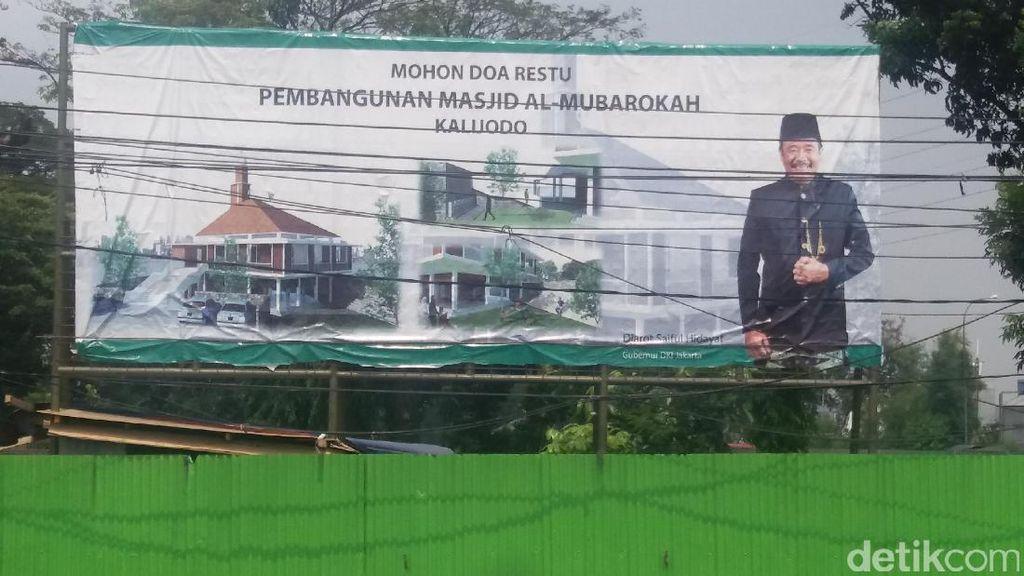 RPTRA Kalijodo akan Punya Masjid Bergaya Zaman Walisongo