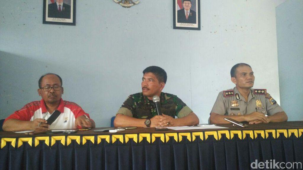 Lokasi Latihan Paskhas Dipastikan Steril Pascaledakan di Riau