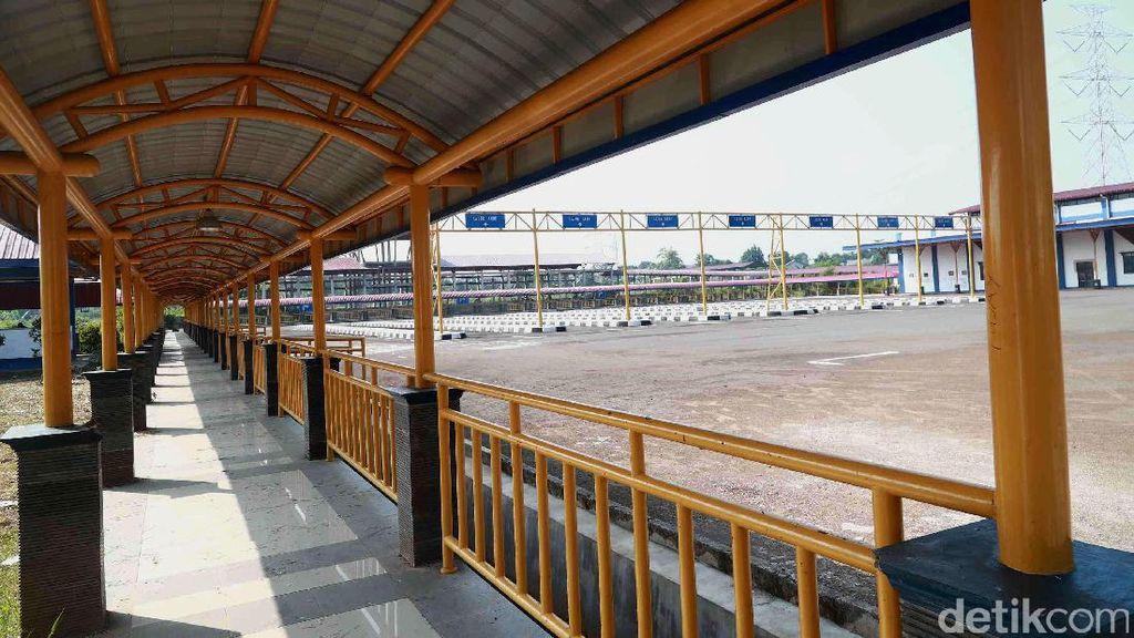 Foto: Begini Kondisi Terminal Jatijajar yang Ditargetkan Beroperasi 2018
