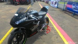 Suzuki Percantik Tampilan Motor Sport dengan SARP
