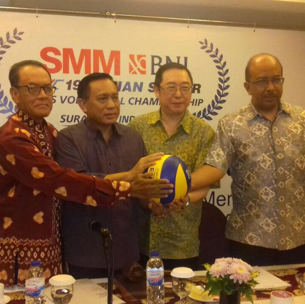Diramaikan 16 Negara, Indonesia Gabung Grup A pada Kejuaraan Asia Voli Putra