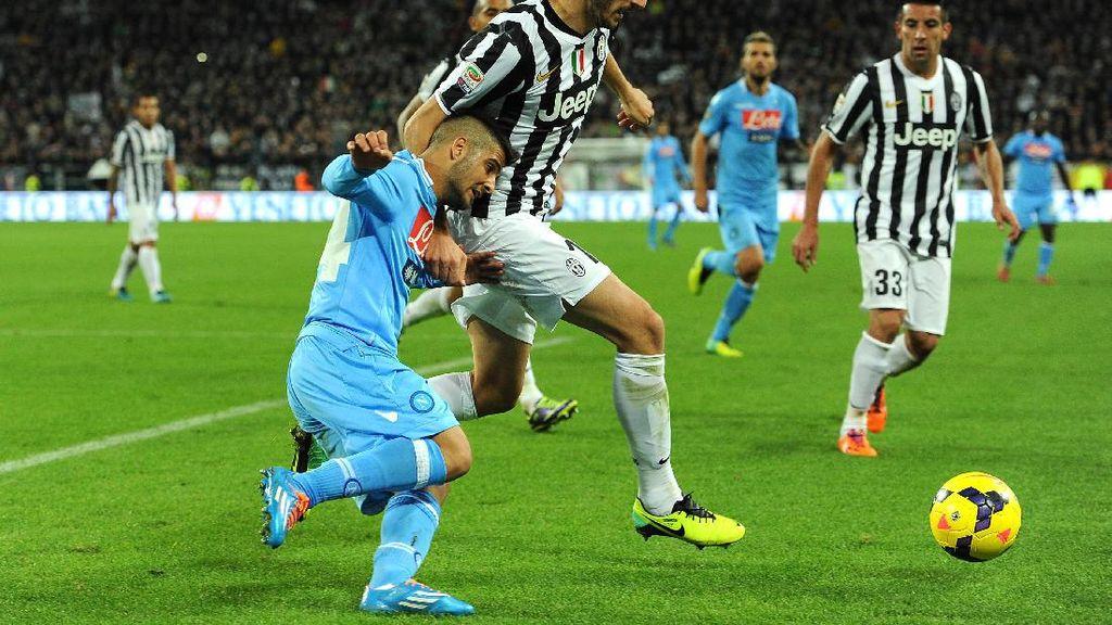 Napoli Akan Diuntungkan dengan Kepergian Bonucci dari Juve