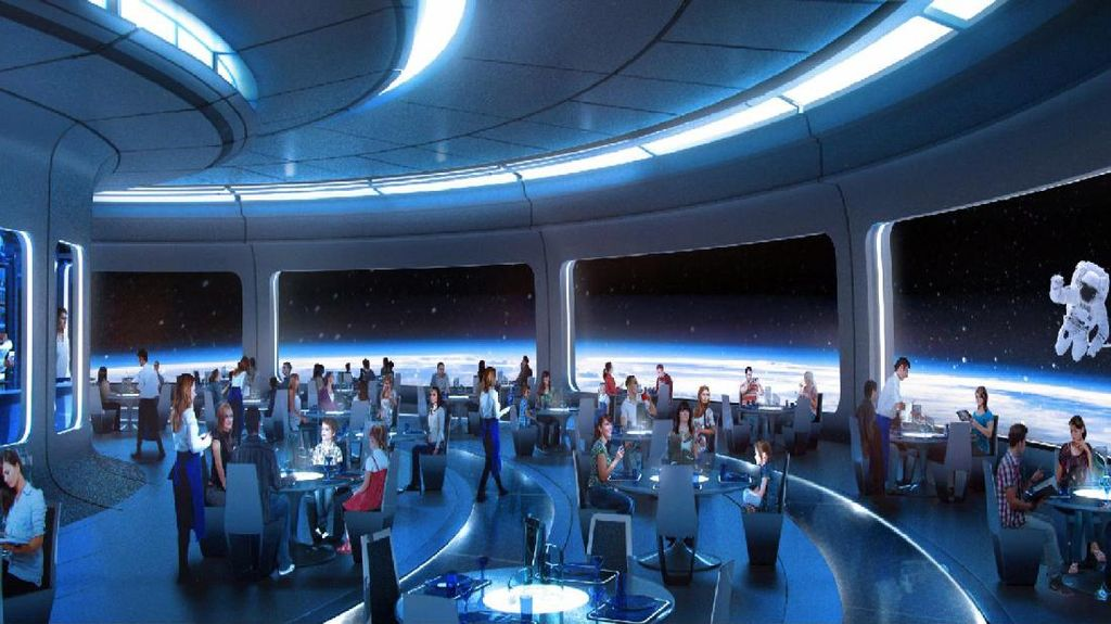 Disney World Akan Segera Buka Restoran Bertema Ruang Angkasa yang Megah