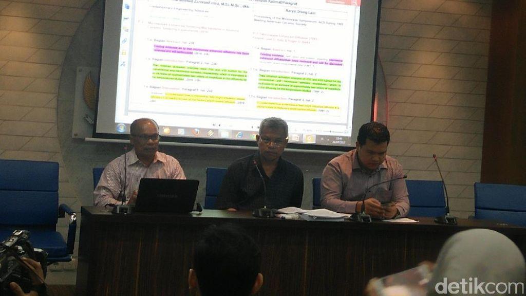 Plagiat Jurnal International, Rektor UHO Diadukan ke ORI