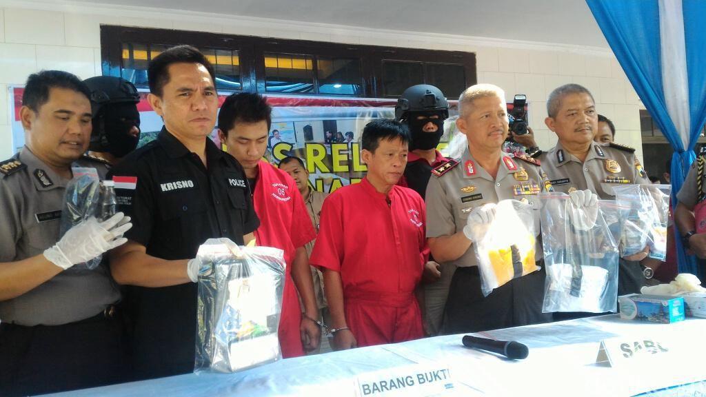 Polisi Dalami Kaitan Sabu 1 Ton di Anyer dengan Pengedar di Semarang