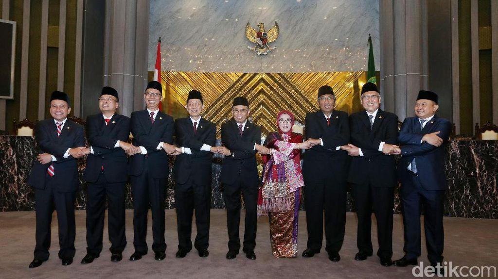 Jokowi Inginkan Inovasi OJK untuk Bantu Pembangunan Infrastruktur
