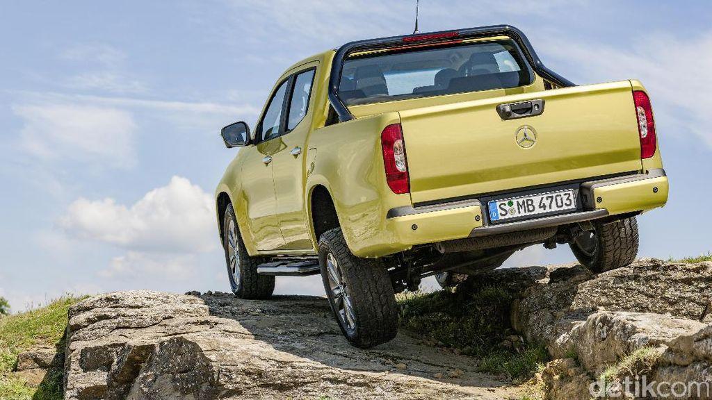 Mobil Pikap Perdana Mercedes-Benz