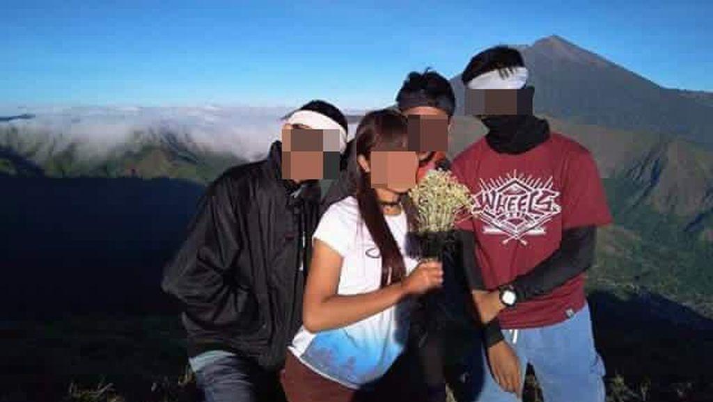 Kata KLHK Soal Pendaki Ndeso Pemetik Bunga Edelweiss Rinjani