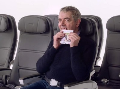 Kocak! Begini Tingkah Mr Bean di Video Keselamatan Pesawat