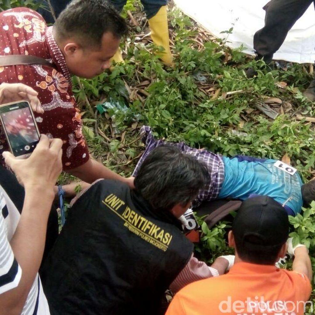 Seorang Pria dengan Kaki Terikat Ditemukan Tewas di By Pass Mojokerto
