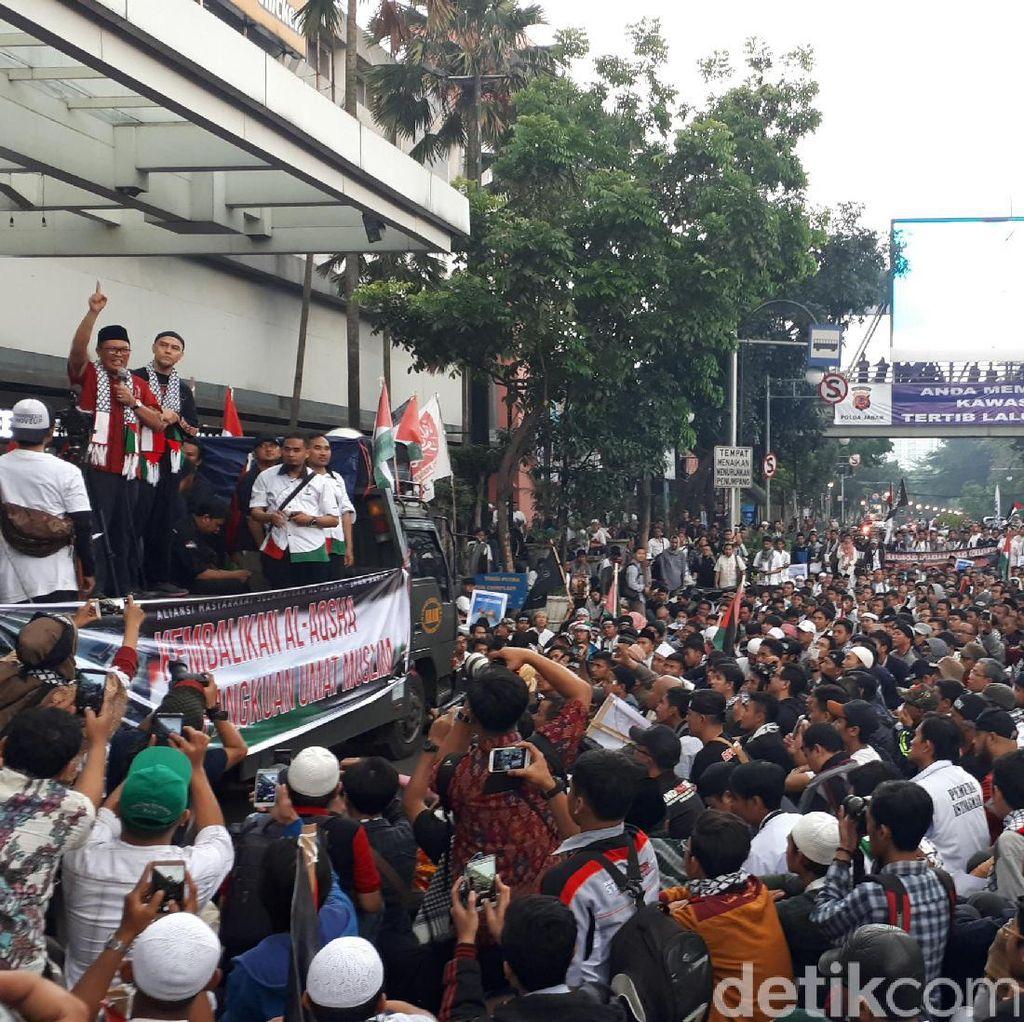 Aksi Dukung Palestina, Wawali Kota Bandung Ajak Masyarakat Berdonasi